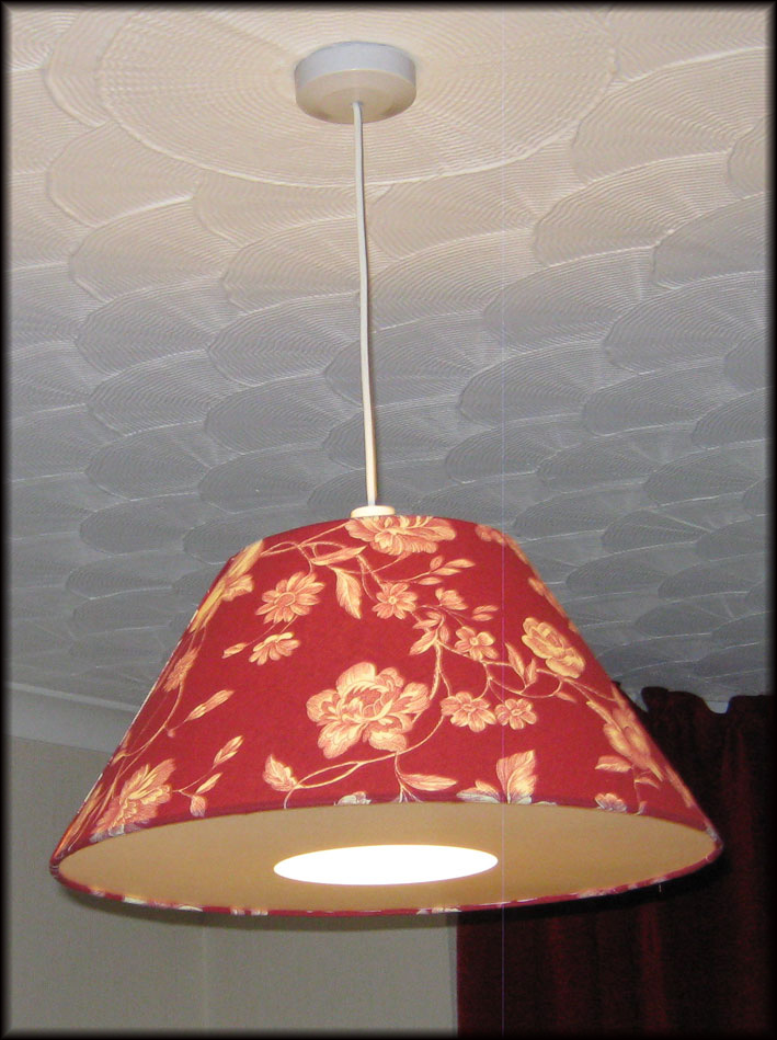 Lampshade Making Kit Coolie 30cm Pendant