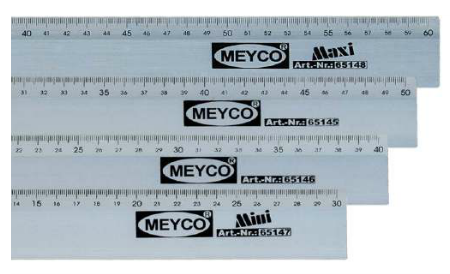 Aluminium Ruler - 50cm x 4cm (Item No: 65145)