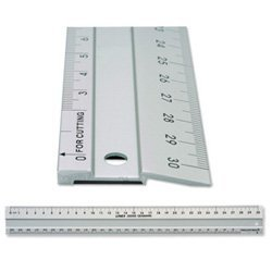 Anti Slip Cutting Ruler Aluminium 50cm