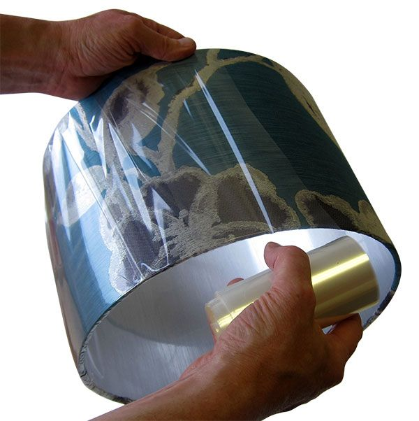 Cellophane - Lampshade Wrapping / Finishing