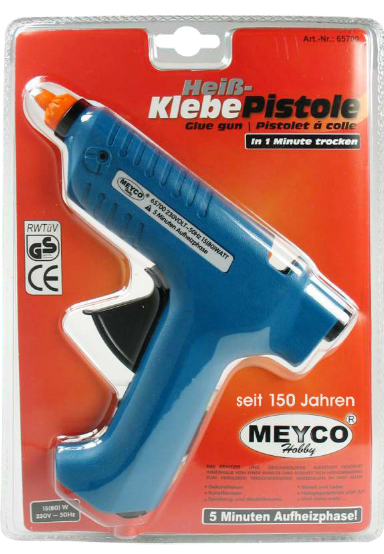 Glue Gun - with EUROPLUG (Item No: 65700)
