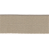 Herringbone Tape - 20mm - Beige - 50mtrs