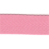 Herringbone Tape - 20mm - Pink - 50mtrs