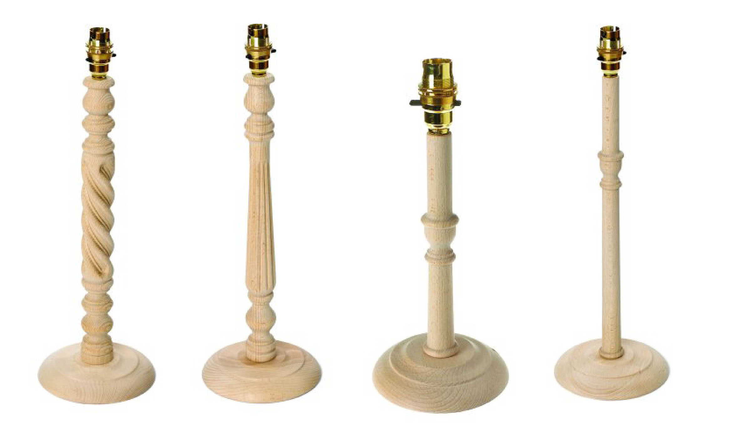 Introductory pack 12 x assorted table lamp bases aloadofball Images