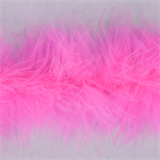 Marabou (Fur) Luxury Trim - 4mm - Shocking Pink  x 10mtrs