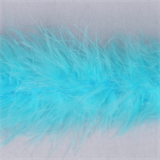 Marabou (Fur) Luxury Trim - 4mm - Turquoise  x 10mtrs