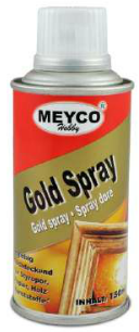 Metallic Spray Paint Gold  (Item No: 65771)