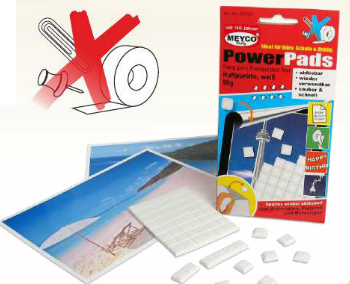 Power Pads - Fixing Gum- 50g (Item No: 65752)