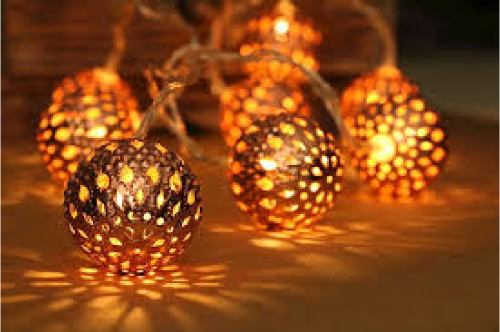 led copper balls for table decoration battery we supply