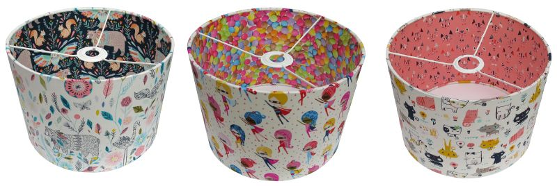 double sided lampshades we supply everything you need to make including instructions