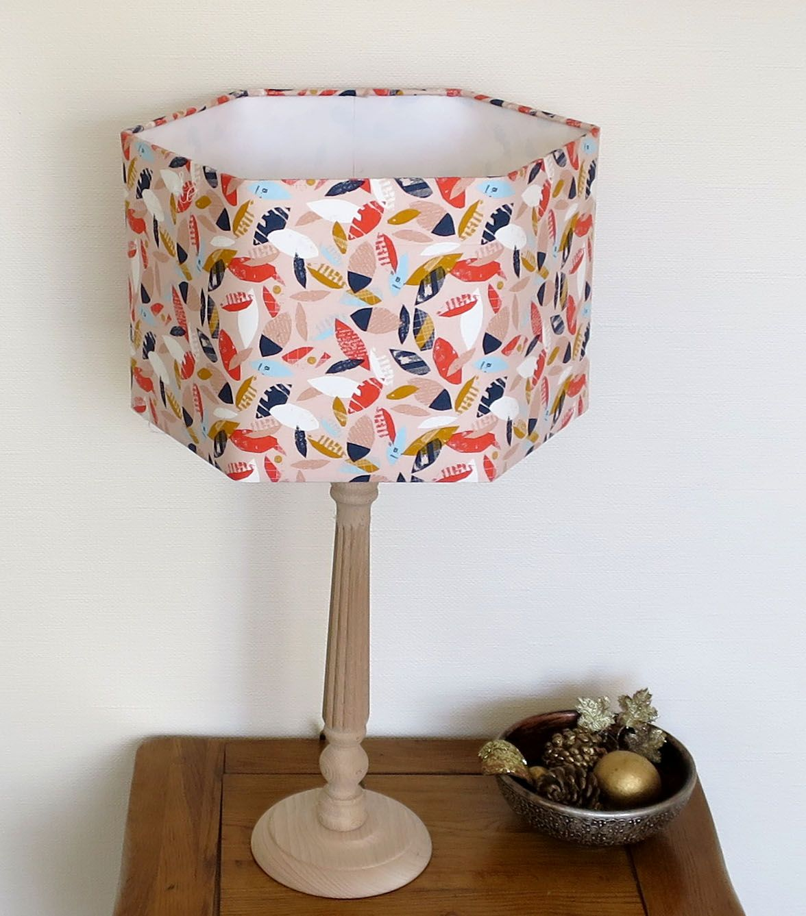 make a hexagonb lampshade we supply all the components