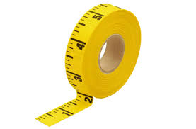 we supply self-adhesive tape measures to stick to your work surfaces and also rulers and tape measures