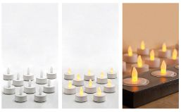 we supply battery tea lights for safe use tlight led