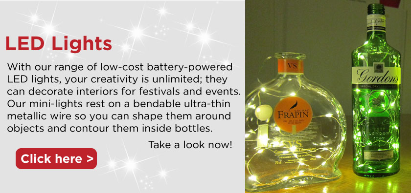 we supply LED lights for all your decorations and celebrations