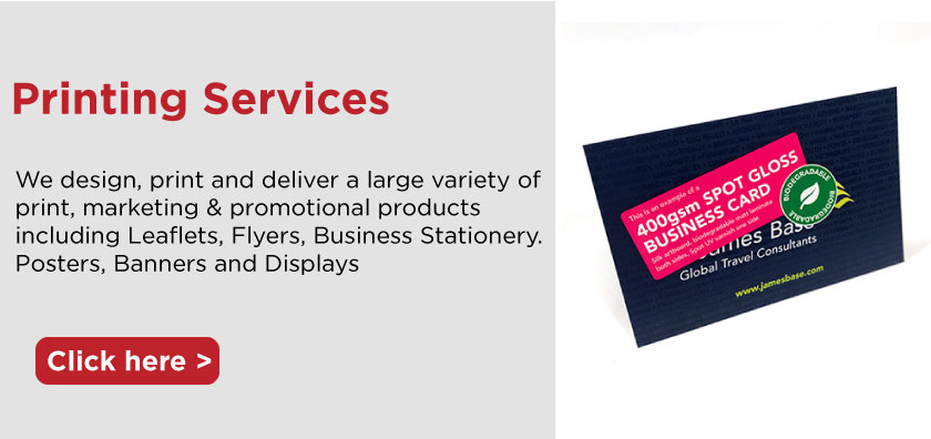 we supply printed business stationery and leaflets flyers and bussiness cards